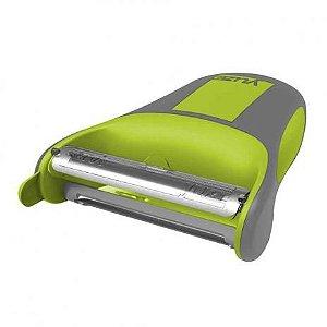 Peeler laminas duplas - verde Yuze