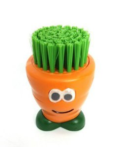 Escova para Vegetais Joie em Plástico - Laranja / Verde