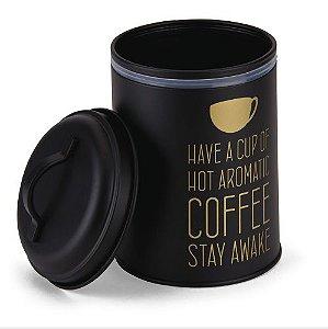Pote redondo para café
