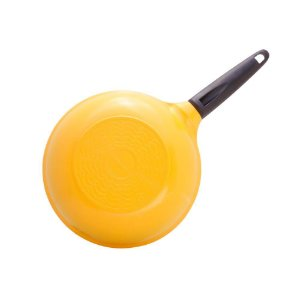 Frigideira Wok Cerâmica - 26 cm - 3,0L - Amarela