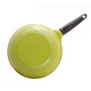 Frigideira Wok Cerâmica - 28 cm - 3,7L - Verde