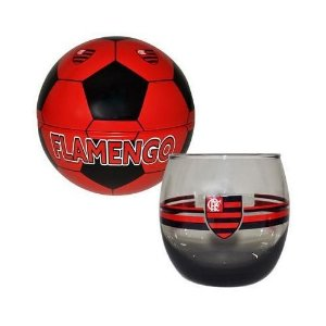 Copo Bellize Rocks Flamengo Lata Bola(Cofre)
