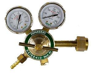 Regulador de Pressão Famabrás - RI-16 - OXIGENIO