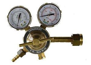 Regulador de Pressão Famabrás - RI-50 CO2