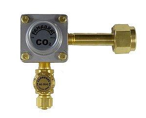 Regulador de Pressão CO2 (Famabras - 1 Saida Pré Calibrado) - FR-420HS/2,5