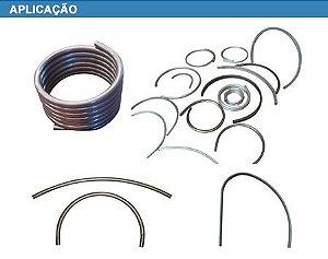 Mão de Obra - Calandragem tudo de Aço Inox - (preço por metro)