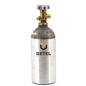 Cilindro de Gás Carbônico CO2 - Aluminio - 0,9 KG
