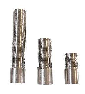 Prolongador p/ Torneira de Chopp - INOX - 15 cm