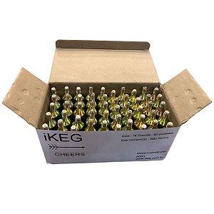 Kit 50 Capsulas CO2 iKEG - 16g