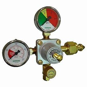 Regulador de Pressão CO2 (Famabras - 1 Saida) - FR-420B