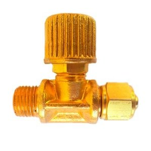 Válvula tipo Agulha (Ajuste Fino) - Saída Simples - Chope (FR-420)
