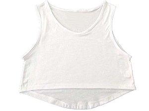 Cropped Branco Feminino