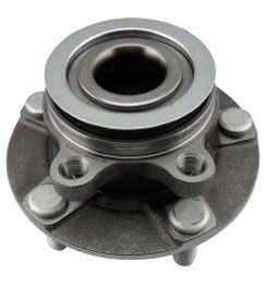 Cubo De Roda Dianteira Com Rolamento Nissan X-trail 2007/2013 - 4x2 - 4x4 - C/ABS - ALPH3298