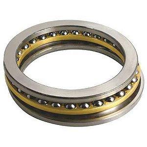 Rolamento Axial de Esferas 51240 M - Medida 200/204X275/280X62mm