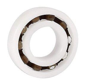 Rolamento R10 Plastico Com Esfera de Vidro Medida 15,895x34,925x7,142