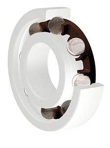 Rolamento Plástico Com esfera de Vidro 6002 - Medida: 15X32X9