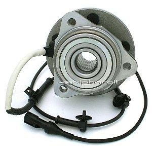Cubo de Roda  Dianteiro Com Rolamento Ford Ranger 4X4 2003/... - 27 Dentes - CR130