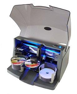Duplicadora de cd e dvd robotica Primera bravo 4102