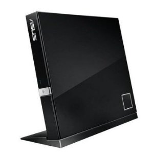 Gravador ASUS Externo Slim de CD/DVD/ Blu-Ray e Leitor de CD/DVD/Blu-Ray