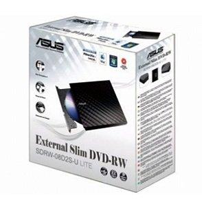Gravador Externo Usb Dvd Lite Slim Asus