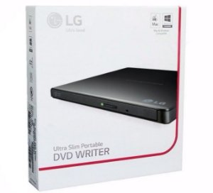 Gravador Lg Externo Dvd Gp65nb60 Usb 2.0 Preto