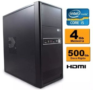 Computador Intel Core I5 4gb Ddr3 Hd 500 Sata