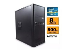 Computador Intel Core I5 8gb Ddr3 Hd 500 Sata