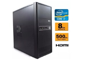 Computador Intel Core I7 8gb Ddr3 Hd 500 Sata