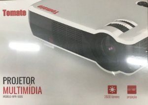 Projetor Multimídia Tomate Mpr-5006 Hdmi Usb Vga 2600 Lumens