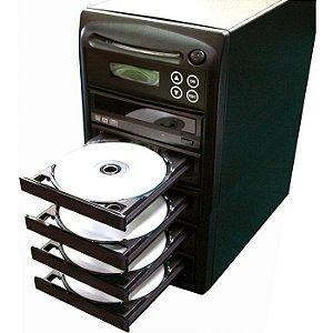 Duplicadora de DVD e Cd com 5 Gravadores Samsung - Grava Midias Dual Layer até 8.5GB