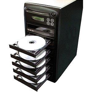 Duplicadora de DVD e Cd com 6 Gravadores Samsung