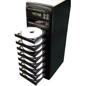 Duplicadora de DVD e Cd com 9 Gravadores Samsung