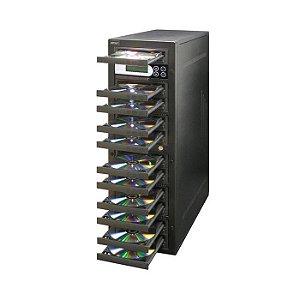 Duplicadora de DVD e Cd com 11 Gravadores Pioneer
