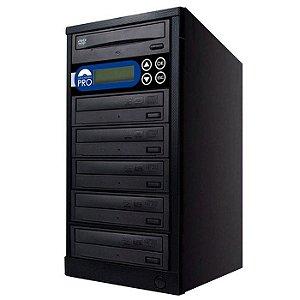 Duplicadora de DVD e CD com 6 Gravadores Sony 7280s