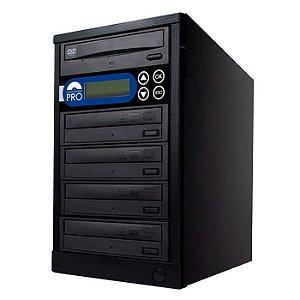 Duplicadora de DVD e CD com 5 Gravadores Sony 7240s