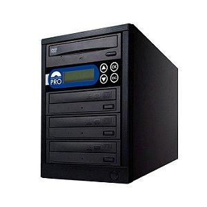 Duplicadora de DVD e CD com 4 Gravadores Sony 7240s