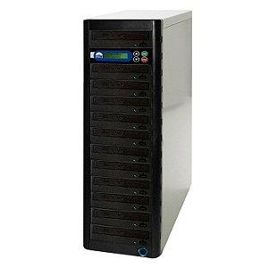 Duplicadora de Blu-ray com 12 Gravadores Pioneer