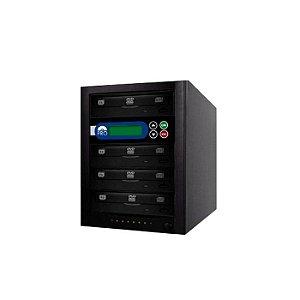 Duplicadora de DVD e CD com 4 Gravadores Philips / Lite-on