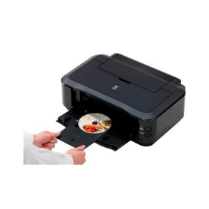 Multifuncional Impressora de DVD e CD Canon iP7210 Wi-Fi Air Print - Preto
