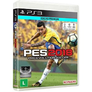 Pro Evolution Soccer 2018 - PES 2018 - PS3 - Mídia Digital