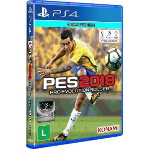 Pro Evolution Soccer 2018 - PES 2018 - PS4 - Primária Mídia Digital