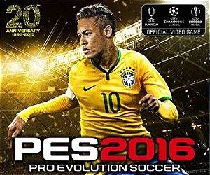 PES 2016 - Pro Evolution Soccer 2016 - PS3 - Pt-Br - Mídia Digital