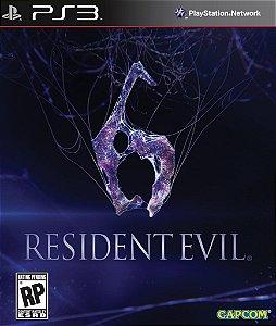 Resident Evil 6 - PS3 - Mídia Digital