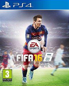 FIFA 16 - PS4 - Mídia Digital SECUNDÁRIA
