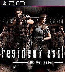 Resident Evil Hd Remaster Ps3 - Mídia Digital