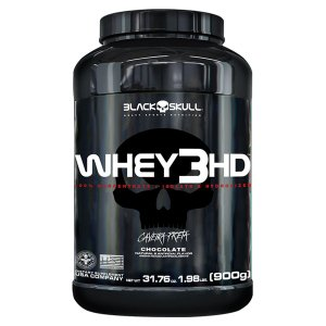 Whey 3HD 907g - Black Skull