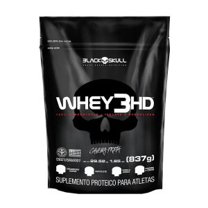 Whey 3HD 837g Refil - Black Skull