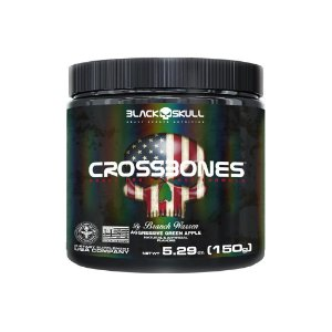 Cross Bones 150g - Black Skull
