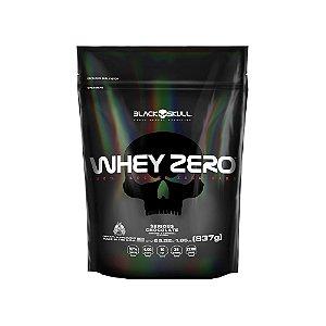 Whey Zero 837g Refil - Black Skull