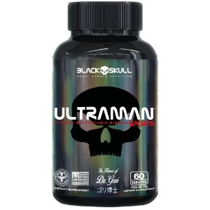 Ultraman 60caps - Black Skull